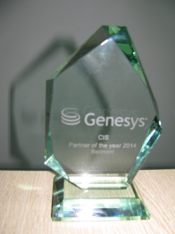 Genesys Partner of the Year Central Eastern Europe